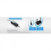 Interface USB Unixtron - Velocidade de 2.0, com fun��es mute, controle de volume de recep��o, controle de volume de microfone