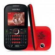 Celular Desbloqueado Venko Carisma Quadri Chip, Discador inteligente, Câmera 1.3MP e Câmera Frontal VGA, TV Analógica, Teclado Qwerty, Bluetooth 2.0, MP3/ MP4 Player, Rádio FM, Fone de Ouvido