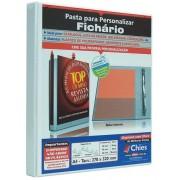 Pasta Chies para Personalizar - Fichário - 2 Argolas - A4 - Branca - Ref.: 1711-1