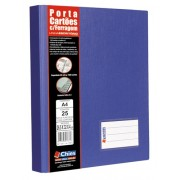 Porta Cart�es Chies Jumbo Azul Royal - Ref.: 1332-8
