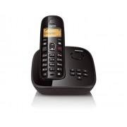 Telefone sem Fio Gigaset Siemens A495 Preto - DECT 6.0 com Secretária Eletrônica, Viva-Voz, Id. Chamadas e Teclado Luminoso