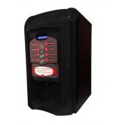 Máquina de Café Maqna Vending Le Petit Preta 220V - faz 8 tipos de bebidas, com moedor de café, display LCD em português