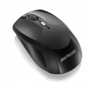 Mouse sem fio Multilaser Ski 2.4GHz MO146 Preto