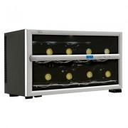 Adega Climatizada Digital para  Garrafas de Vinho Tocave T8D Digital Prata 220V