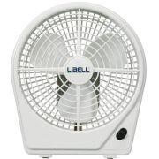 Ventilador Libell Summer Branco - 18cm, 2 velocidades, 220V