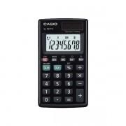 Calculadora de bolso vertical Casio Card SL-797TV-BK 8 Dígitos, Solar e Bateria, Preta'