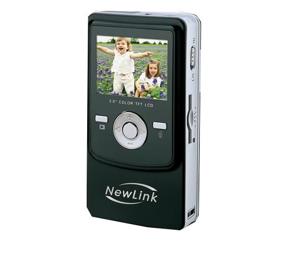 Pocket Cam VGA Preta Newlink VC101s