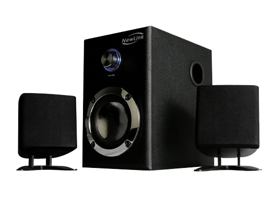 Subwoofer 2.1 Power Song NewLink SP202