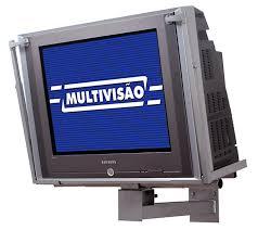 Suporte para TV CRT de 21´´ a 34´´ Multivisão P30 Prata