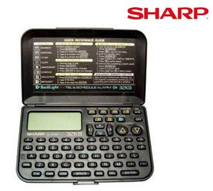 Agenda Eletrônica Sharp EL6490BR - 32KB (Cod: 2276)