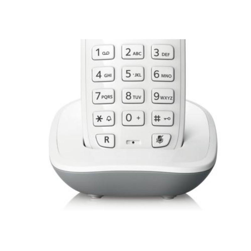 Telefone sem Fio com Identificador de Chamadas + Ramal Siemens Gigaset A390 Duo Branco