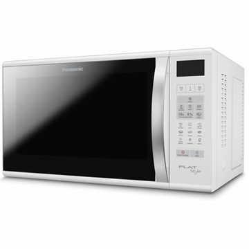 Forno de Micro-Ondas Flat 27L / 6 Níveis de Potência / Exclusivo Sistema Flat / Branco - Panasonic - NNSF560WRU