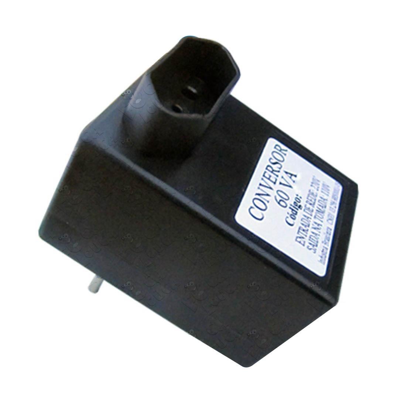 Conversor de Voltagem Multicraft 60VA converte 110V entrada da rede para 220V tomada do aparelho