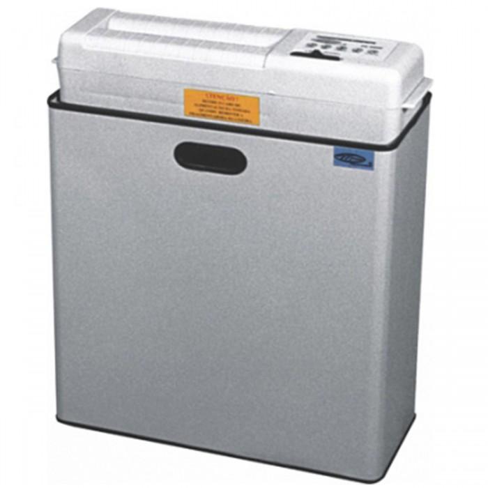 Fragmentadora de Papel Menno FC 260P 220v Corta 6 folhas em Partículas de 4x40mm, lixeira 49L, fenda 255mm, Nível de Segurança 03, 374W
