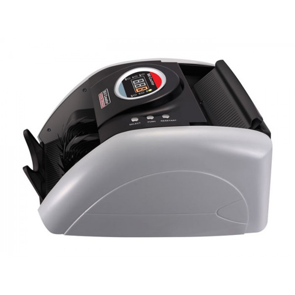Contadora de Cédulas Xinda Electronic K-5200 110V Conta 1000 cédulas/minuto, detecção cédulas falsas UV