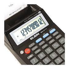 Calculadora Elgin MA 5111 mesa com bobina
