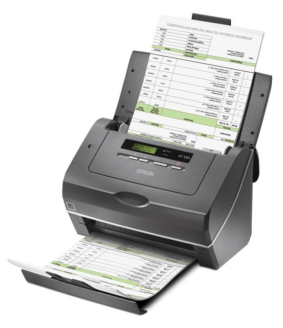 Scanner Epson Workforce Pro GT-S50 c/ alimentador automático de folhas, colorido, duplex (frente e verso)