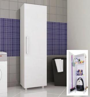 Armario para lavanderia com porta - Multivisão - AS 636 (Cod: 2930)