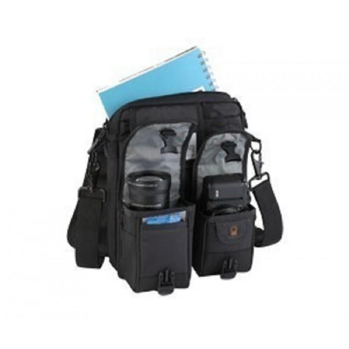 3 Em 1: Bolsa Para Netbook, Câmera Digital, Lente E Acessórios Lowepro - Kit Classified 100 Aw - Lp36048 (Cod: 3047)