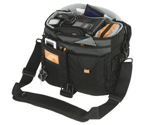 Bolsa Lowepro Stealth Reporter D400AW LP34951 para câmera DSLR e acessórios