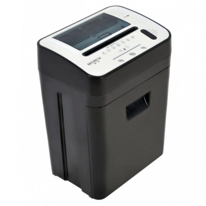 Fragmentadora de Papel Menno Secreta AF75 - Corta 6 folhas em Particulas de 3x9 mm, Alimentador automático para 75 folhas, lixeira 23 litros, Nível de Segurança 04, 127V