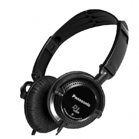 FONE DE OUVIDO Panasonic - RP-DJ120PP-K - DJ Headphone