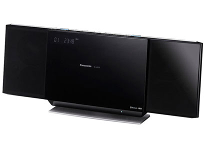 MICRO SYSTEM Panasonic - SC-HC55PU-K - 40w, BT, USB Playback, Made for iPod/iPhone