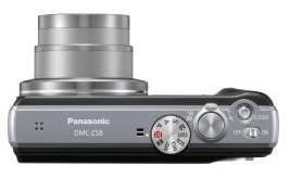 Câmera Digital Panasonic LUMIX - DMC-ZS8LB-K - 14.1MP, 16x optical zoom, 20x Intelligent Zoom, LCD 3,0´, iA, Power OIS, 24mm Wide Angle, HD Movie, Leica Lens, Facebook & Youtube ready - 4GB SD Card an