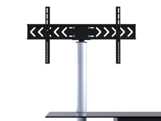 Rack de chão para TVs lcd/plasma/led em vidro e madeira LK-1 - Brasforma