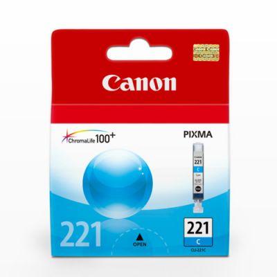Cartucho de tinta Canon Elgin CLI-221 C iP 3600, 4600 ip4700, MP540 / MP560