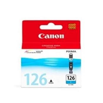 Cartucho de tinta Canon Elgin CLI-126 C MG5210, MG6110, iP4810, PRO9000 / PRO9000 Mark II