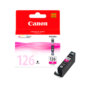 Cartucho de tinta Canon Elgin CLI-126 M MG5210, MG6110, iP4810, PRO9000 / PRO9000 Mark II