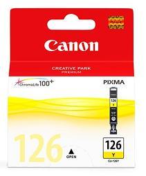 Cartucho de tinta Canon Elgin CLI-126 Y MG5210, MG6110, iP4810, PRO9000 / PRO9000 Mark II