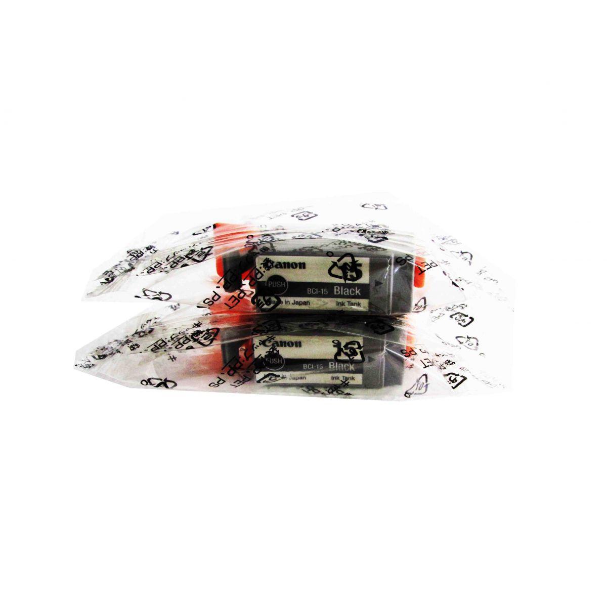 (FORA DE LINHA) Cartucho de tinta Canon Elgin BCI-15 bk ( Blister c/2 unidades ) i70 i80 iP90 iP90v