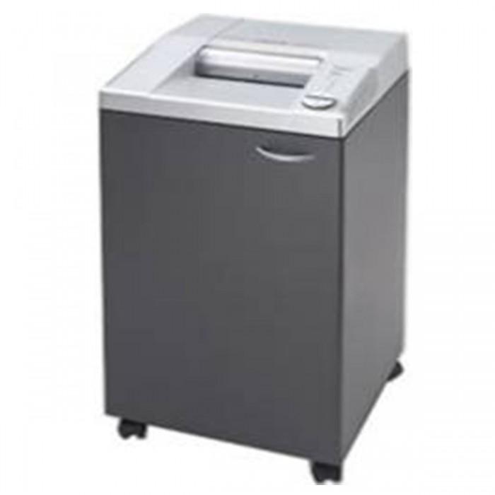 Fragmentadora de Papel EBA 2326C - Corta 27 folhas em Partículas de 4x40mm / CD / DVD / cartões / clips / grampos, fenda 260mm, cesto 100L, Nível de Segurança: 03