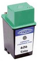Cartucho Compatível Novo Para Impressora Jato De Tinta Hp 51626a ( Série 500) Preto Menno Gráfica (Cod.: IJR 26A)