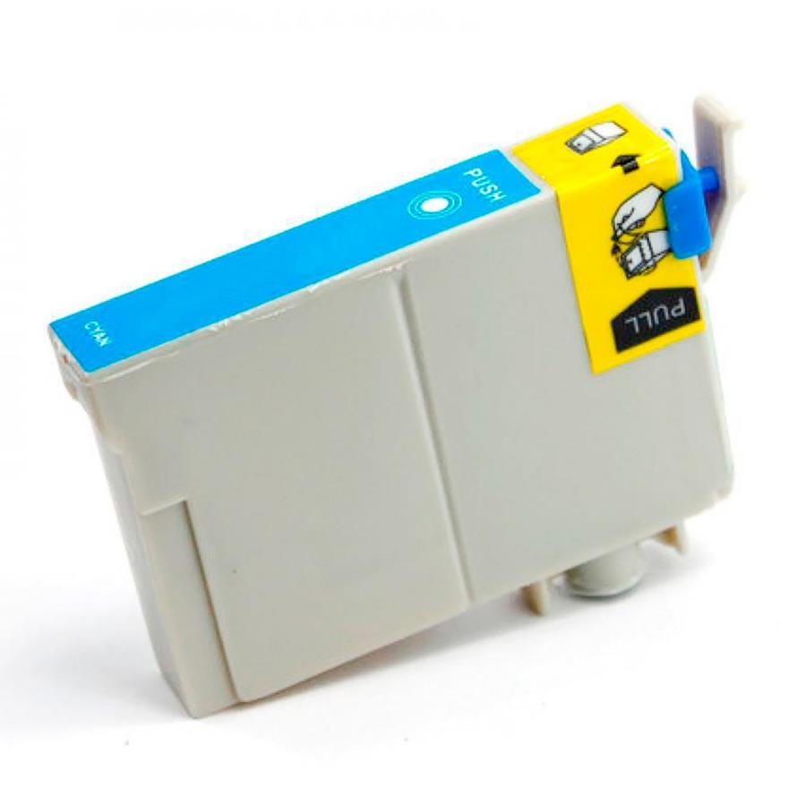 Cartucho Compatível Novo Para Impressora Jato De Tinta Epson Stylus C 67/ C 87/ Cx 3700/ Cx 4100/ Cx 4700 Cyan Menno Gráfica