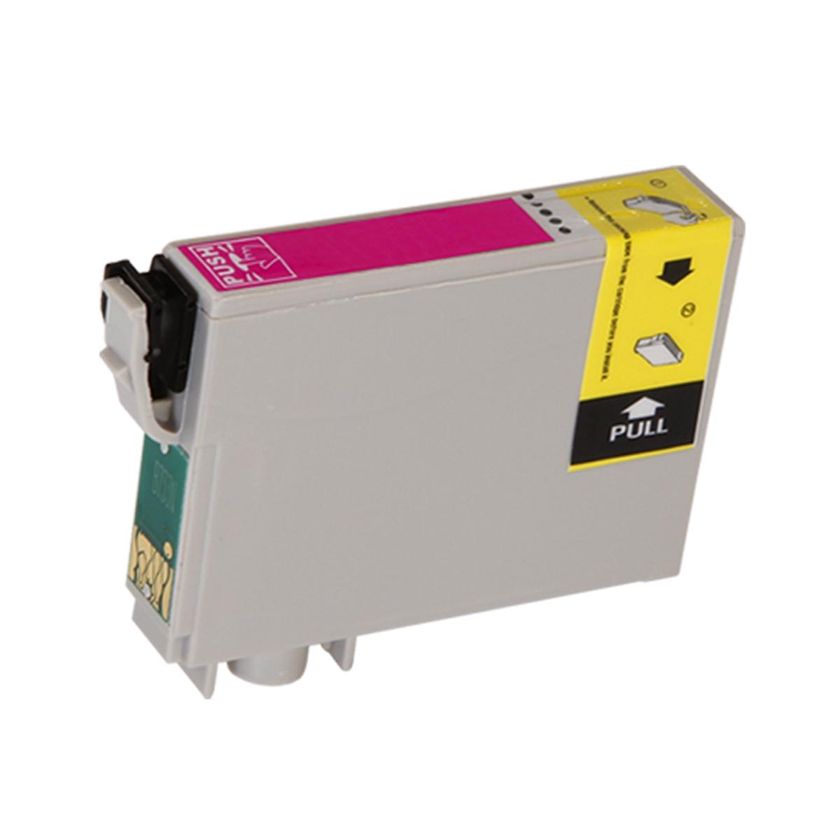 Cartucho Compatível Novo Para Impressora Jato De Tinta Epson Stylus C 67/ C 87/ Cx 3700/ Cx 4100/ Cx 4700 Magenta  Menno Gráfica