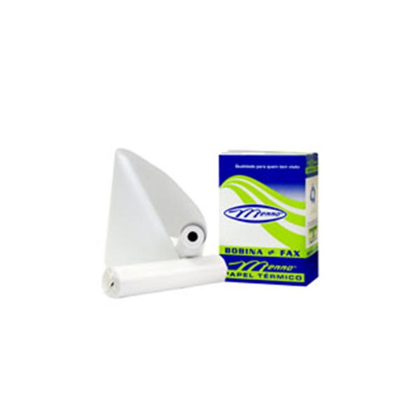 Bobina de Fax Papel Térmico 216M X 30M Caixa com 6 unidades