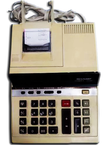 Calculadora de Mesa Sharp CS-2612 (SEMI-NOVA)