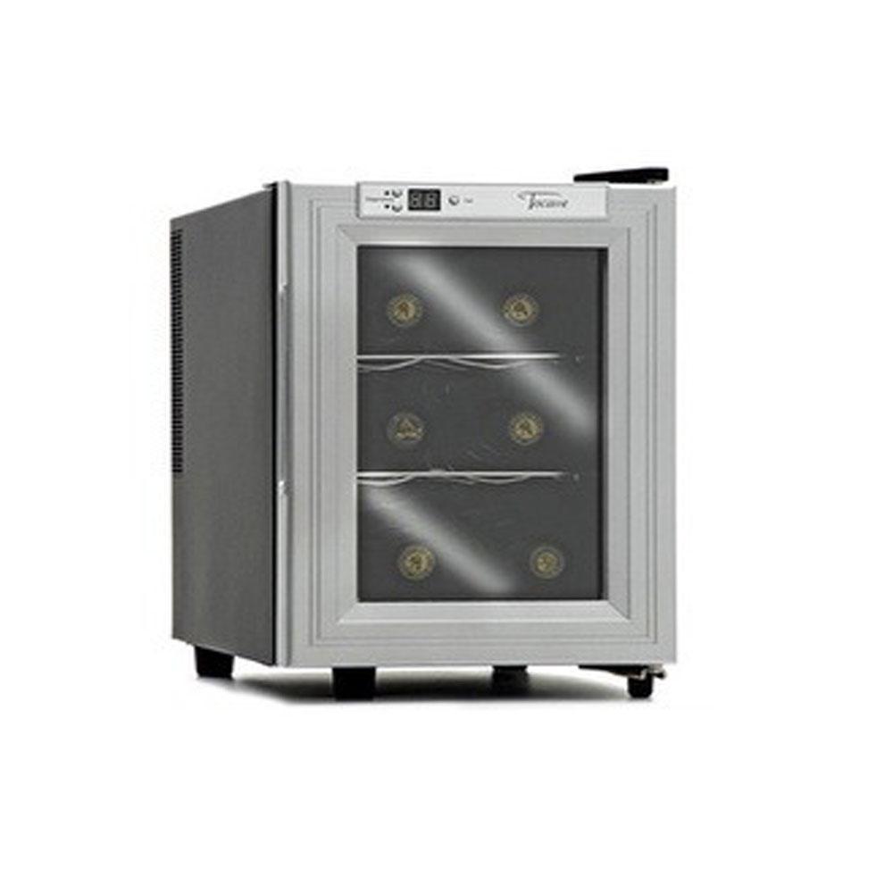 Adega Climatizada Digital para 6 Garrafas de Vinho Tocave T6D Digital (semi-nova)