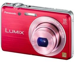 Câmera Digital LUMIX DMC-FH8LB-K/R/V - Panasonic