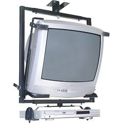 Suporte Teto TV/DVD 14´ é 21´ - SBR2.1 Preto - Brasforma