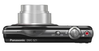 Câmera Digital Lumix DMC-SZ1LB-K - Panasonic