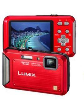 Câmera Digital Lumix DMC-TS20PB-R/A - Panasonic