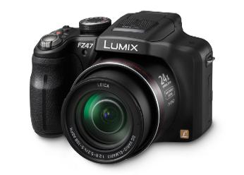 Câmera Digital Lumix - DMC-FZ47PU-K - Panasonic