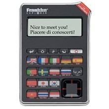 Tradutor eletronico Franklin EST-4016 - 16 Idiomas, 800 expressoes de viagem por idioma pronunciadas atraves de uma voz