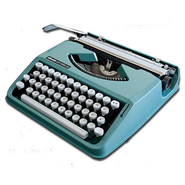 Máquina de escrever Olivetti Lettera Reformada