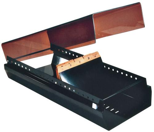 Fichario Longo M-74 Cartao Endereco c/ Indice Menno 4412