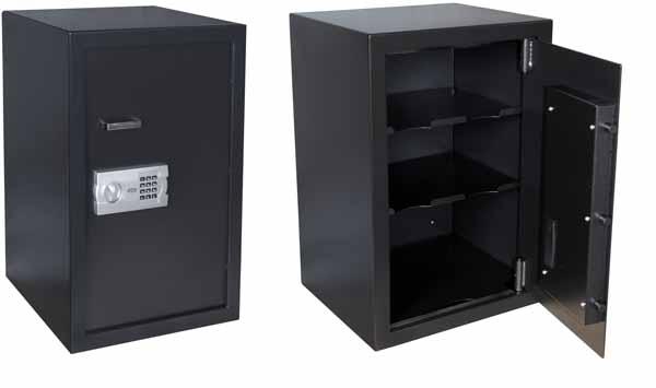 Cofre Eletronico Menno 75EG Dimensoes Externas 750A 500L 440Pmm Internas: 645A 407L 360P, 95 Litros, 3 Prateleiras, 50